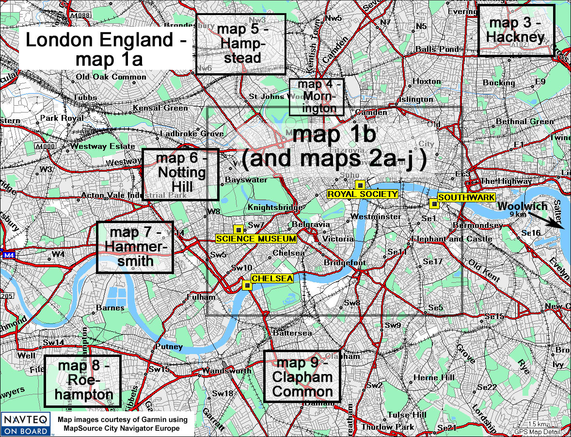 London England City Map.Londonmap01a