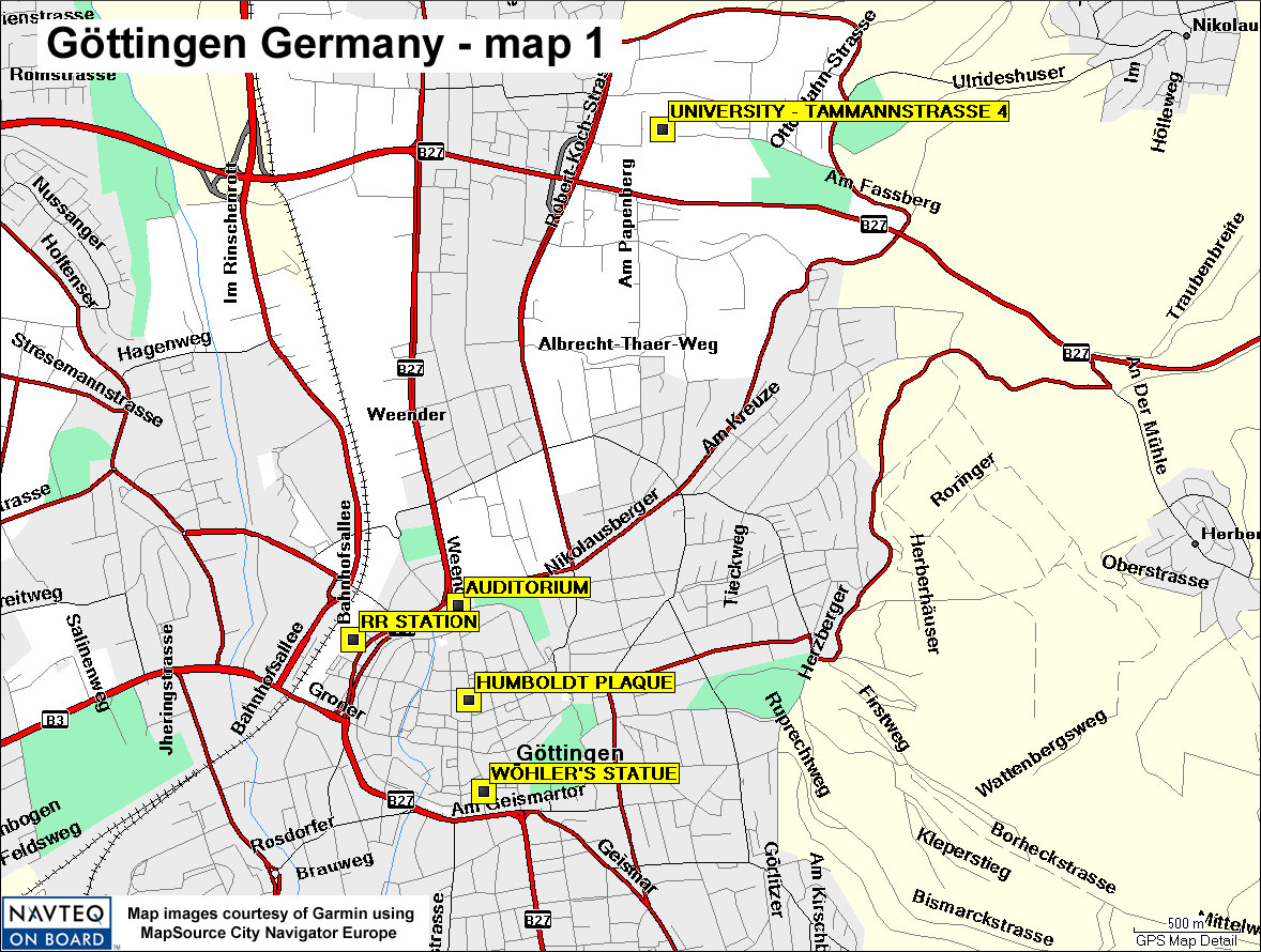 Map Of Germany Gottingen.Gottingen Map 01