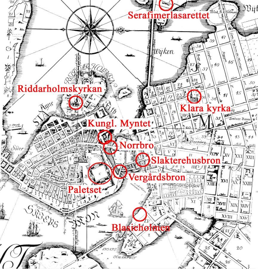 Stockholm, Sweden / stock099-1733 map of stockholm.jpg